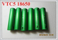 best of best - 100 authentic original lithium battery VTC3 VTC4 VTC5 battery li ion battery battery for all kinds of e cigs Best Quality