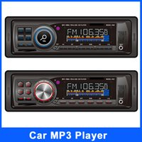 Wholesale 7 different Car MP3 Player Audio Radio Din Stereo FM Transmitter Sound In Dash With USB SD Input FM Receiver for MP3 Player AUX mm