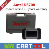 Wholesale 100 Original Autel Maxidas DS708 Scanner Auto Dianostic Scanner Free Update Online years warranty DHL
