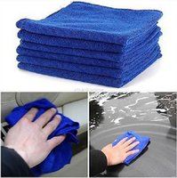 Wholesale 6 Car Cleaning Wash Polish Clean Super Soft Cloth Microfiber Towel x cm