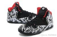 basketball construction - Famous Basketball Players Sneaker Lebron XI Athletic Shoes Customize Colorway Graffiti Black Hyperposite Construction Sports Shoes US7