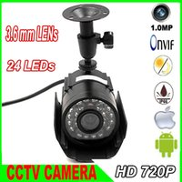 hd ip camera - 1 quot CMOS P IP Camera Network MP HD waterproof outdoor leds CCTV Camera Support iPhone Android ONVIF2