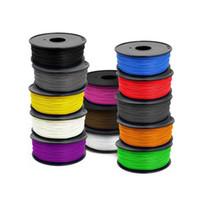 Wholesale 1 mm Diameter PLA D Printer Filaments Plastic Rubber D Printer Consumables Material