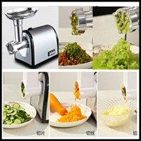 Wholesale Electric Auto Carrot pepper grinder Sausage Maker Filler Mincer Stuffer noodle maker Meat Grinder for Home