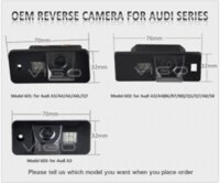 audi reviews - Car Vehicle Rearview Camera for Audi A3 A4 A6 A8 Q5 Q7 A6L Backup Review Parking Reversing Cam Rear View Waterproof Night Vision