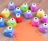 Wholesale 1 Mini Printing Paper Hand Shaper Scrapbooking Tags Cards Craft DIY Punch Cutter Tool Styles New