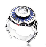 Wholesale Star Wars R2D2 rings Stainless Steel Ring for Men Star War Black Knight Master Yoda Accessories Jewelry Gift