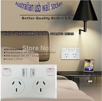 australian power socket - New Australian and New Zealand Standard A V USB Wall Power Point Socket switch BY DHL