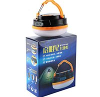 Wholesale 2015 Mini Portable Lantern Outdoor Camping Hiking Tent LED Light Campsite Hanging Lamp Backpacking Emergency Handle light