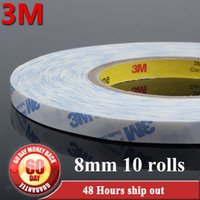 assembling components - 10x mm width M mm M A white Double Sided Adhesive sticky Tape strong for Electrics Components Assemble Sticky order lt no trac