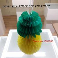 decorative fruit - 2015 New Hot Sale Fruit Honeycomb Ball Decorative Paper Craft