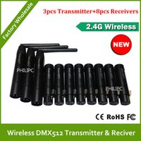 Wholesale DHL DMX Channels DMX Wireless Controller