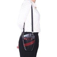 Wholesale 2015 New PU Leather Barber Scissor Hairdressing Holster Pouch Holder Case Bag Waist Shoulder Belt