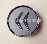 Wholesale 4Pcs CM Citroen Wheel Center Caps Fits C2 C3 C4 C5 C6 C Quatre Hub Caps Emblems Badge New