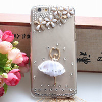 rhinestone cell phone cases - Brand New Cell Phone Cases Stylish Phone Shells Rhinestone Phone Protective Cover For iPhone F103302