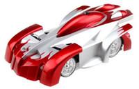 al por mayor wall climber car-Top seller Mini Wall Floor escalada escalador RC Racer control remoto coche de carreras Kid regalo de juguete