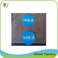 aluminum foil labels - Customized High grade aluminum foil adhesive beer bottle label