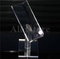 Boîte d'affichage acrylique Tablette signifie cas clairs rack porte-ego pour le kit de pulvérisation RDA RTA ABS Surpass Nookie Castigador boîte mod ZNA ADN Ecig DHL