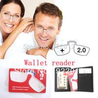 Wholesale reading glasses Wallet reading glasses