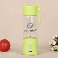 Wholesale 100PCS LJJL10 Mini Portable fruit vegetable Lemon Electric Cup Gifts Water Bottle With USB Charger Juice Carry Cup