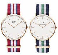 al por mayor relojes rattrapante-DW Daniel Wellington de primera marca de moda casual deportes relojes hombres mujeres militares de cuarzo reloj de observación relogio masculino
