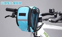 Wholesale Candy Color Handle Bar Bags bicycle hire the car first car hanging bags leading bags cycling equipment Spring Style