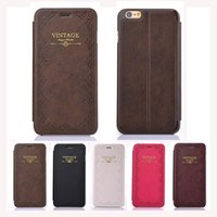 apple - New Brand Luxury WalkingZone Design Leather Flip Case For Apple Iphone Inch Slim Personalized Stand Cover Cell Phone Cases