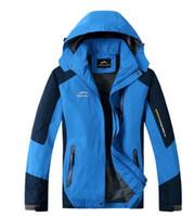 Wholesale Winter men jackets thermal jacket coat Outdoor Sports ski camping climbing men jacket outwear Waterproof Windproof