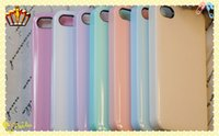 Wholesale Variety of candy colors Material Cover For Apple iphone4 iPhone4S Case For iPhone S Phone Protection Shell Beautiful Design MQ100