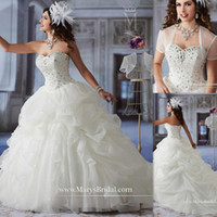 affordable quinceanera dresses - Princess Quinceanera Dresses White Organza Ball Gowns With Jacket Beaded Crystals Corset Affordable Dress For Sweet Party China