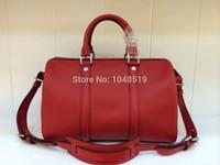 leather duffle bag - travel duffle bag famous designer shoulder bags high quality genuine leather women big shoulder bag messenger bag