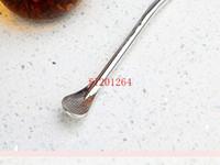 Wholesale Fedex DHL New Stainless steel straw Bombilla Yerba mate straw filter straw