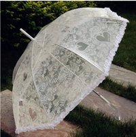 Wholesale bridal accessories parasols bridal umbrella lace fashion colors choice umbrella free ship hot sale