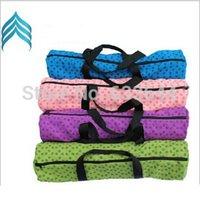 Wholesale Sport Yoga Mesh bag Yoga Mat Backpack Portable Non Slip Exercise Carrying Yoga Mat Bag