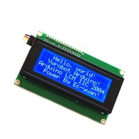Wholesale Promotion New IIC I2C TWI Serial LCD x Module Shield Display Blue White Whosale pirce