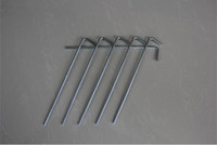 nail equipment - cheap Universal Tent Nails High strength galvanized iron snag ground spikes Outdoor gear Hiking Camping camping equipment on sale