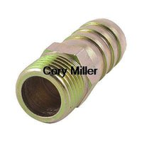 air hose coupler adapter - 1 quot PT Male Thread mm Air Gas Hose Barb Fitting Adapter Coupler order lt no track