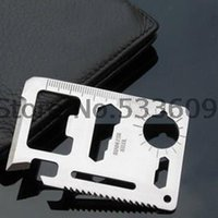Wholesale 2000pcs Pocket Survival Tools Card Function Saber Card Knife Outdoor Survival Multifunction knife