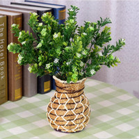artificial christmas wreath - M bluegrass Artificial plants party decoration real touch silk flowers rose balls weddings wreath