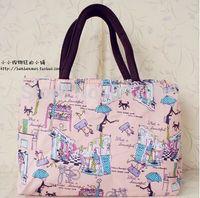 Wholesale new arrival bags Ladies Canvas Handbags Women Handbag Messenger Bags Woman Shoulder Beach Bag waterproof nylon bag J