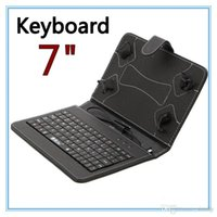 Wholesale Q88 quot Tablet PC PU Leather Keyboard Stand Case For Inch Kids Tablet PC Q88 quot Keyboard Cover Case