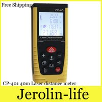 Wholesale New arrived m m m Laser distance meter CP Digital Rangefinder Range finder Tape measure Tool Tester