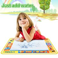 Wholesale X52cmMagic Water Doodle Mat amp Magic Pen Drawing Board Water Mat aquadoodle drawing mat Early Learning Toys