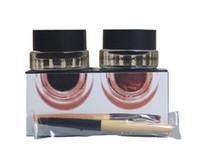 bb eyeliner - New BB Black Brown Two color Gel Eyeliner Proof Water Proof Eye Liner Eye Liner Eyeliner Gel Makeup Cosmetic Brush