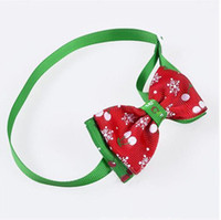 Wholesale 1 PC New Year Gift Dog Cat Bow Ties Bowtie Dog Neckties Holiday Pet Wedding Decoration Grooming Accessories