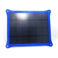 home solar power system - 5W V Solar Panel used for Ipad Iphone Samsung mobile phone table pc power home system solar Module Battery On Sale