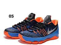 Cheap 2015 Kevin Durant KD 8 Basketball Shoes V8 Bright Crimson With Tick KD 8 Sports Shoes Discount Leather Mens Basketball Sneakers us 7-12