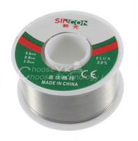 Wholesale 63 Tin mm Rosin Core Tin Lead mm Rosin Roll Flux Solder Wire Reel Brand New