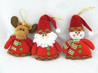 christmas decoration santa claus - 2013 New Arrival Christmas Decoration Santa Claus Snowman David s deer Christmas Pendant Christmas Gift