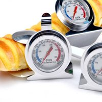 Wholesale New Hot Degree Classic Stainless Steel Household Oven Thermometer Kitchen Tools cooking Gadgets E494L